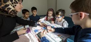 Eyüplü çocuklar Evde Değerler Eğitimi'yle sosyalleşiyor