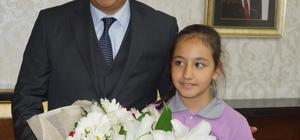 Aydın Valisi Koçak'a, 23 Nisan ziyareti