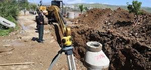 Yafes Mahallesi'nde alt yapı ve güçlendirme çalışması başlatıldı