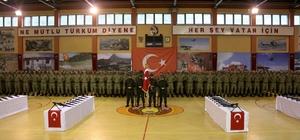 """Uzman erbaşlar """"Mavi bere"""" taktı"""