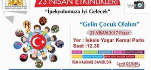İpekyolu Belediyesinden 23 Nisan etkinliği