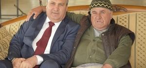 Başkan Çerçi hastalarla buluştu