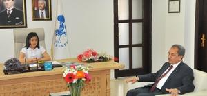Başkan Akkaya, koltuğunu ilkokul öğrencisine devretti