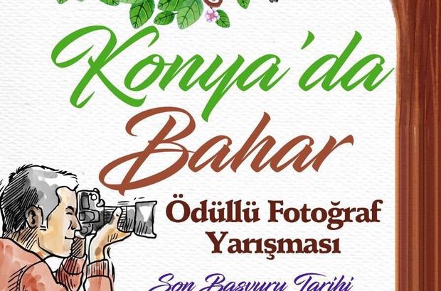 """Büyükşehir'den """"Konya'da Bahar"""" isimli ödüllü fotoğraf yarışması"""