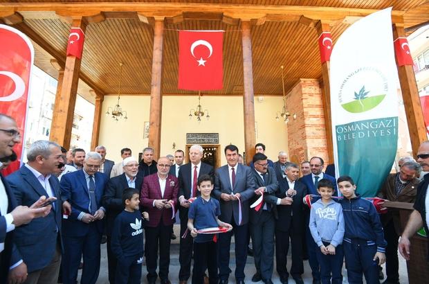 Osmangazi'den camilere hizmet eli