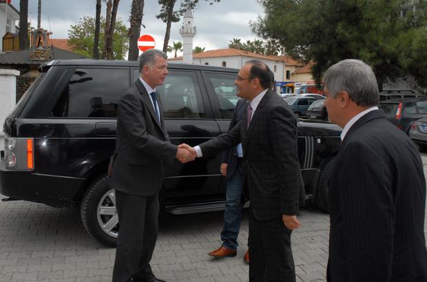 İngiltere'nin Ankara Büyükelçisi Moore, Muğla'da