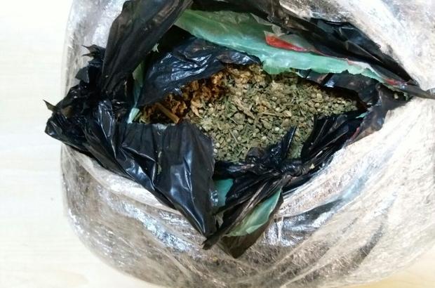 Uşak'ta uyuşturucu operasyonları