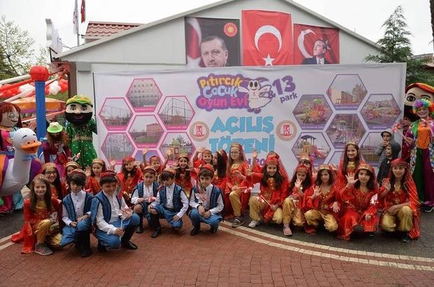Pıtırcık Kapalı Çocuk Oyun Evi'nin açılışı gerçekleştirildi