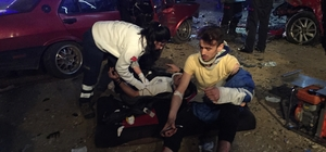 Kocaeli'de trafik kazası: 7 yaralı