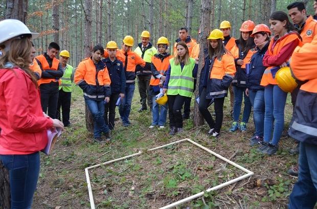 OBM Silvikültür uygulama eğitimleri devam ediyor