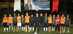 Pamukkale'de 5'inci futbol turnuvası başladı