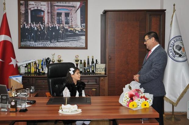 Milas'ta makamlar öğrencilere teslim edildi