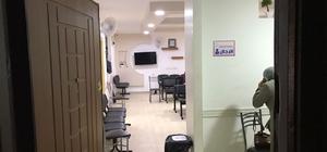 Mersin'de ruhsatsız sağlık merkezine operasyon