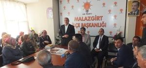 AK Parti'den Malazgirt ilçesine teşekkür ziyareti
