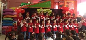Minik öğrenciler 23 Nisan'ı kutladı
