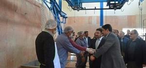 ozat'ta tadilatı tamamlanan mezbahane açıldı