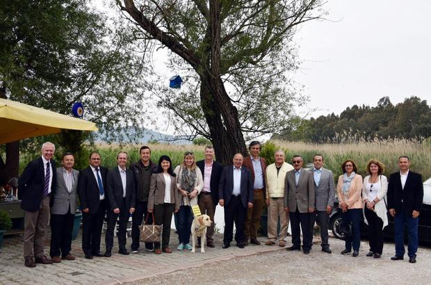 İngiltere'nin Ankara Büyükelçisi Moore Muğla'da