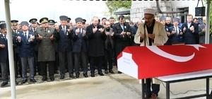 Kore gazisi Yamak'ın cenazesi defnedildi