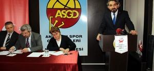 ASGD Genel Kurulu yapıldı
