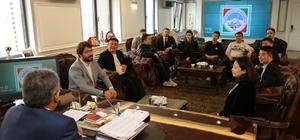 Çin heyeti serbest bölge için Kayseri'de
