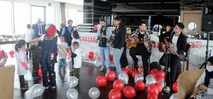 Lösemili çocuklar '23 Nisan Balosu'nda eğlendi