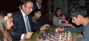 Çatak'ta satranç turnuvası
