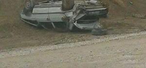 Gediz trafik kazası: 1 yaralı