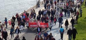 Tekirdağ'da 23 Nisan yürüyüşü