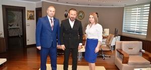 Başkan Doğan'a kardeş belediyeden ziyaret