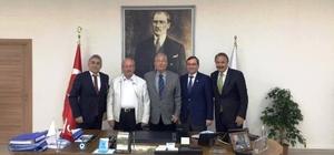 Deniz Baykal'dan Tekirdağ Büyükşehir Belediyesi'ne ziyaret