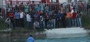 Adana otomobil sulama kanalına devrildi: 1 yaralı