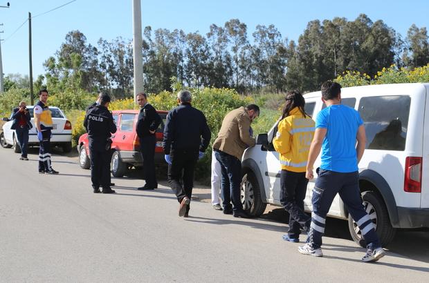 Antalya'da otomobilde erkek cesedi bulundu