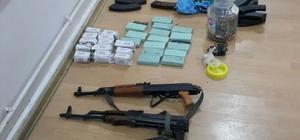 Kızıltepe'de PKK'ya ait silah ve mühimmat ele geçirildi