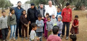 Savaşın çocuklarına 23 Nisan hediyesi