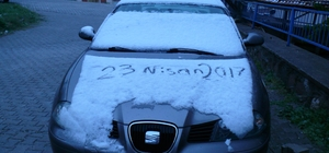 Bilecik'te kar sürprizi