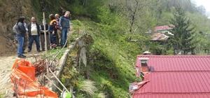 Trabzon'da şiddetli rüzgar
