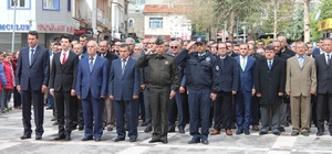 Beyşehir'deki 23 Nisan kutlamaları hava muhalefetine takıldı