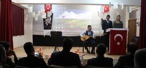 Hamur'da şiir ve müzik dinletisi