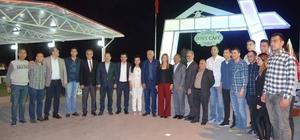 Başkan Seyfi Dingil basketbol camiasını ağırladı