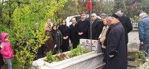Şehit jandarma komando onbaşı mezarı başında dualarla anıldı