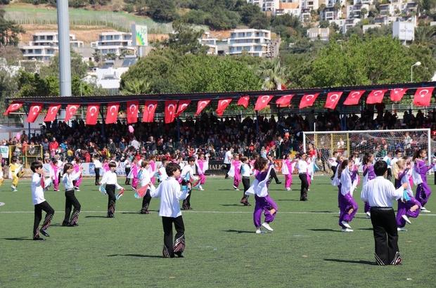 Bodrum'da 23 Nisan Ulusal Egemenlik Ve Çocuk Bayramı kutlamaları