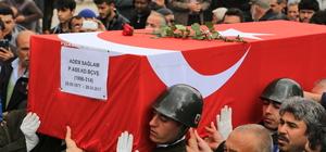 Afganistan'da kalp krizi sonucu ölen Başçavuş, Aksaray'da toprağa verildi