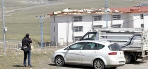 Doğu Anadolu'da kuvvetli rüzgar