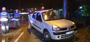 Sakarya'da trafik kazası: 3 yaralı