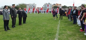 Burhaniye' de 23 Nisan coşkusu