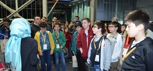 332 öğrenci Seka Bilim Merkezini ziyaret etti