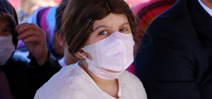 Kanser hastası Sıla'ya 23 Nisan sürprizi
