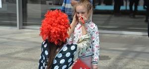 Doğa Cadde'den pamuk şekerli 23 Nisan kutlaması