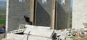 Gaziantep'te inşaat duvarı çöktü: 1 ölü, 1 yaralı