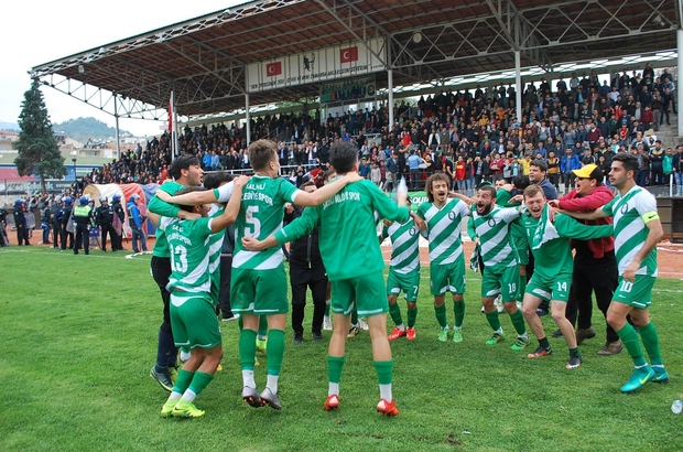 Salihli Belediyespor play-out biletini kaptı